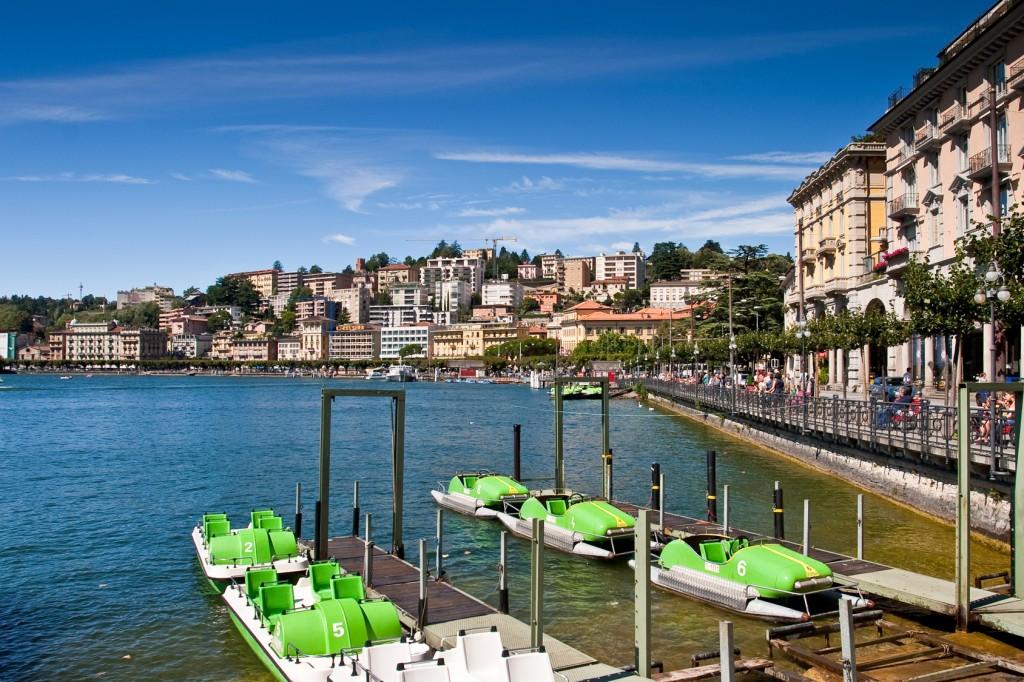 Luganersee, Lugano